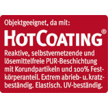 Ziro Hot Coating Oberfläche