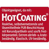 Ziro Hot Coating Oberfläche