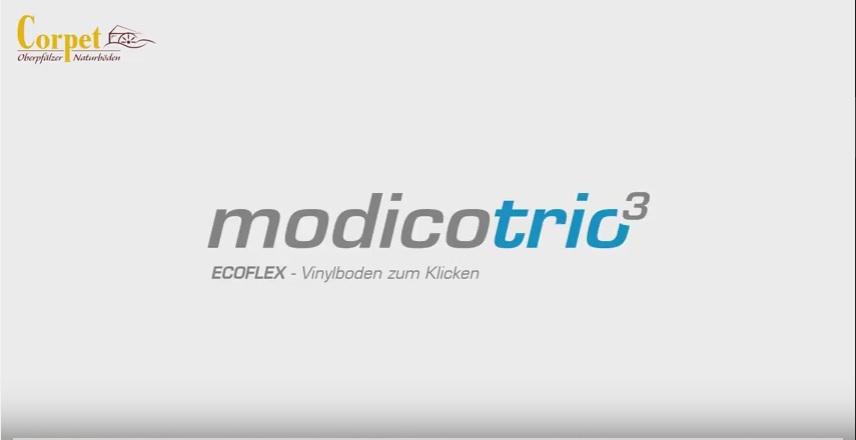 Corpet Modicotrio Ecoflex Verlegeanleitung